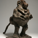Pablo Picasso, La guenon et son petit, 1951 Bronze 53,2 x 33,2 x 61 cm Collectionparticulière/ Photo©MauriceAeschimann © Succession Picasso 2016