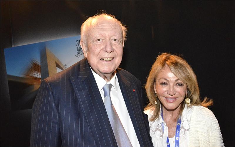 Jean-Claude Gaudin et Monique Venturini